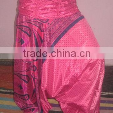 Belly dance dancer pants with beautiful print