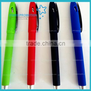 high quality promotional gel pen with mutiple colour choices