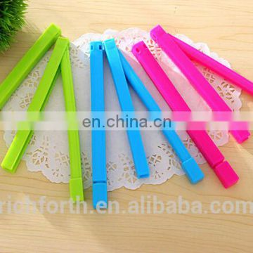 promotional plastic bag clip with various colours