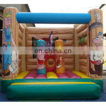 Inflatable house bouncer, inflatable jumper castle, jump bed game,