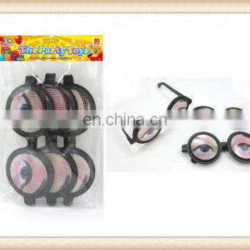kids Plastic spectacles toy, crazy party goofy glasses toy