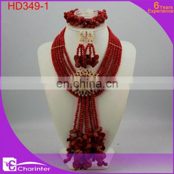african crystal beads jewelry sets HD344-2