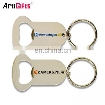 Cheap metal novelty bottle opener keychains