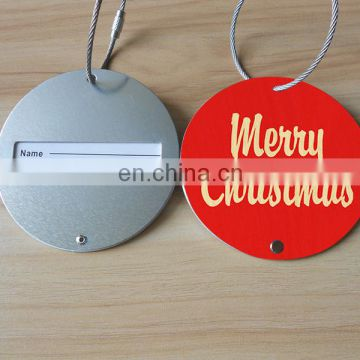 Christmas Luggage Tag, Merry Christmas Gifts, Custom Aluminum Luggage Tag