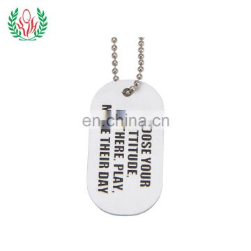 aluminum custom logo dog tags for cheap stamped logo dot tag of dog