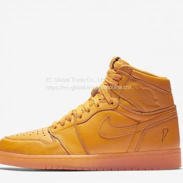 Air Jordan 1 High Gatorade 'Orange' Shoes, Wholesale Men's Sneakers & Athletic Shoes for Sale