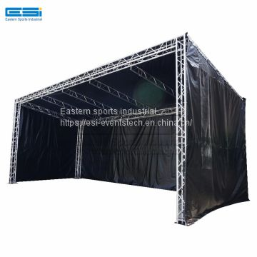 China purchase wholesale cheap concert light aluminum stage tent spigot truss system display