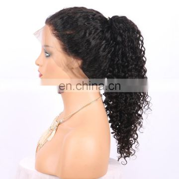 kinky wave Virgin human Brazilian hair for wig making