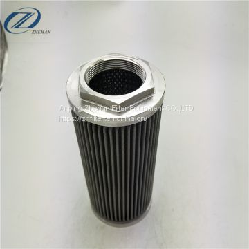 stainless steel pleated oil filter element