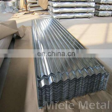 zink coated galvanized corrugated steel sheets for wall sheet/plate