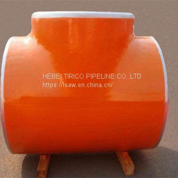 Pvc Tee Fitting T Connector Pipe For Oil / Gas