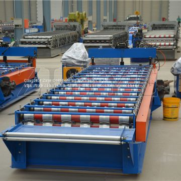 Excellent Iron Roof Tile Cold Roll Forming Machine