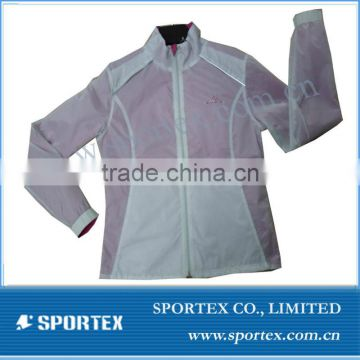 Mens and ladies outdoor running jacket/running wear