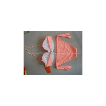 2014 most fashionable high quality bandeau top swimwear beachwear