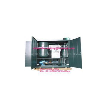 Turbine Oil Purifier Oil Recycling Plant Oil-Water Separator Series TY