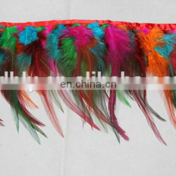 16-18cm top quality feather trim