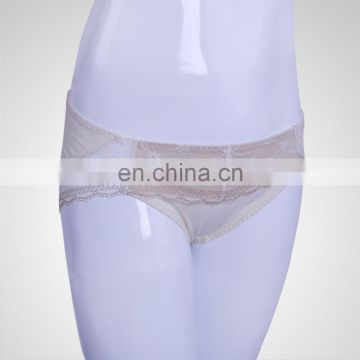 Fitness Lace Slip Classic Briefs White Ladies Panties