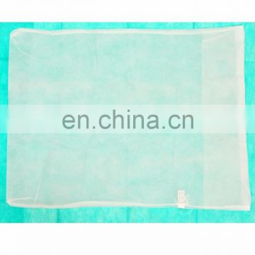 Disposable white / blue / green non woven pillow cover for medical use