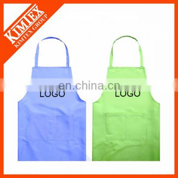 100% cotton custom white kitchen cleaning apron
