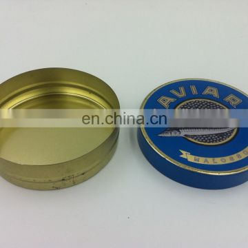 Metal box packaging,caviar packaging box,tin cans for food canning