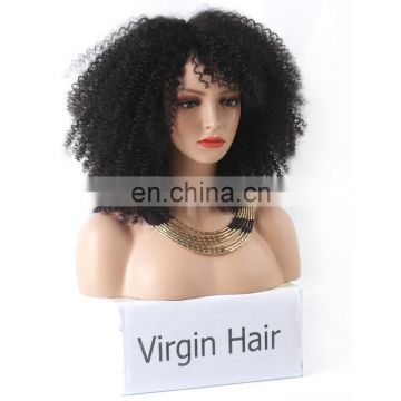 Human lace wig afro kinky human hair lace front wigs
