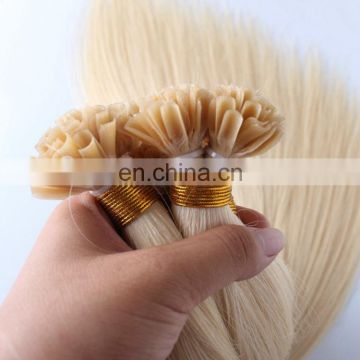 Factory Wholesale price Stick I tip keratin hair extensions 100% human hair
