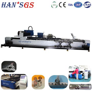 CNC Fiber Laser Metal Tube Cutting Machine for Square/Round Pipe