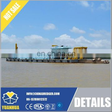 Backhoe dredger for charter