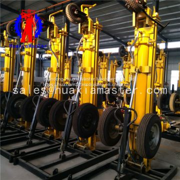 Shandong Master pneumatic water well drilling rig  large favorably