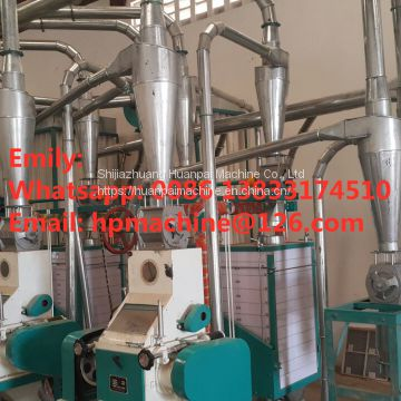 15TPD corn mill grinder ugali making machine  maize mill small flour mill commercial grain mill