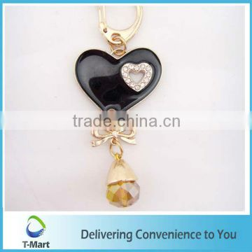 Fashion Colorful Heart Shaped Pendant design for bags, clothings, belts and all decoration