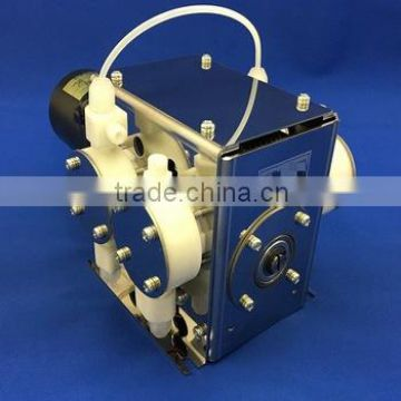 Long lasting diaphragm pump for IPA chemical made in Japan