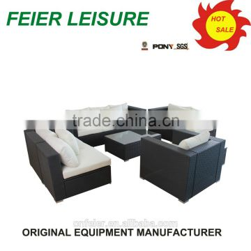 new style rattan sofas furniture with high quality