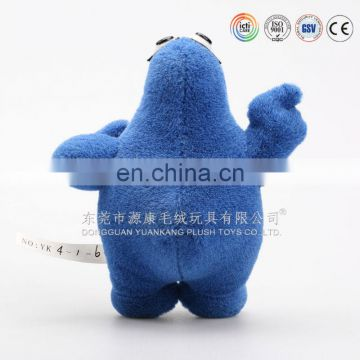 Blue plush stuffed animal chicken toys wholesale cheap