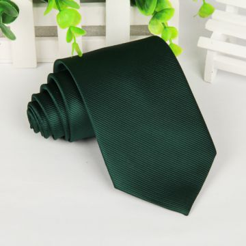 Digital Printing Shirt Collar Accessories Silk Woven Neckties Standard Length Gray