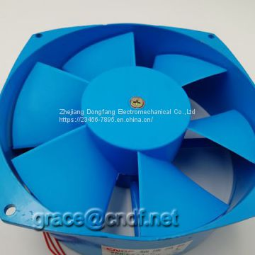 CNDF Hot selling 210mm TX 200FZY AC Axial Cooling Fan For Welding Machine 220/240VAC  280VAc  single phase connect cooling fan