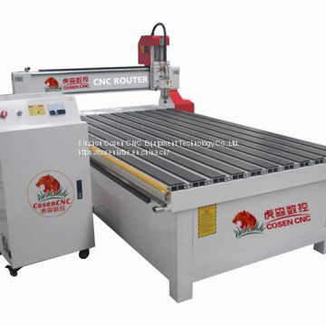 cnc wood engraving router machine cosen