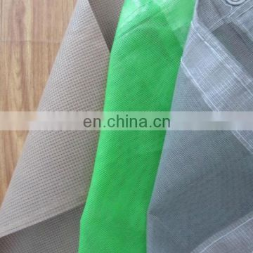 Fireproof PVC Coated Mesh Tarpaulin for Construction and Scaffolding Industry