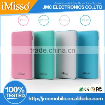 IMISSO 8000mAh Portable Charger External Battery Pack Power