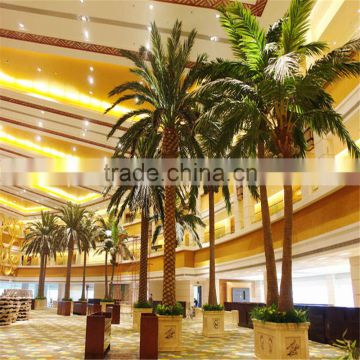 2017 hot sale artificial Washington plastic palm tree uv anti
