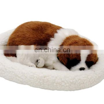 2014 Top New Fashion simulation animal Snoring & breathing dog