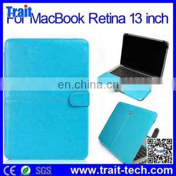 Universal PU Leather smart Keyboard Case for MacBook Retina 13 inch,silicone case for macbook pro 13 retina