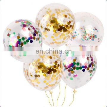 confetti balloon 12 inch 36 inch clear transparent wedding decoration party confetti balloon