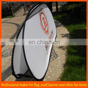 Custom cheap A frame pop up banner
