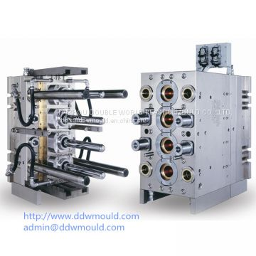 DDW 96CAV Self-locking Penumatic PET Preform Mold with valve pin gate eported to Mexico