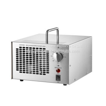 Portable ozone purifying equipment 3.5g~7g ozone adjustable O3 generator with timer air purifier stainless steel