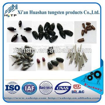 tungsten alloy fishing weight