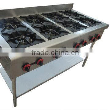 FRB-4 Commercial kitchen 4 burner table top gas stove with ...