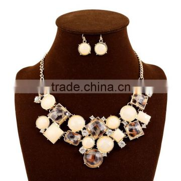 Fashion short Alloy Jewelry Necklace,Statement Alloy Necklace,Chunky Bead Necklace Wholesale