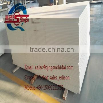 PLASTIC RIGID CLEAR WHITE PVC WPC FOAM FORMWORK FURNITURE DECORATION ADVERTISING FLOOR IMITATION MARLBE BOARD SHEET PANEL PLATE